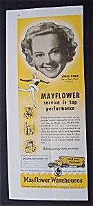 1956  Mayflower  Warehouses  with  Sonja  Henie (Image1)