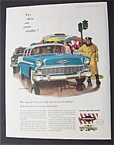 1956 Chevrolet with a Man & Woman (Image1)