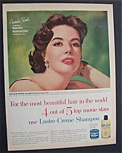 1958 Lustre - Creme Shampoo With Natalie Wood