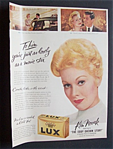 1956 Lux Soap With Kim Novak (Eddy Duchin Story)