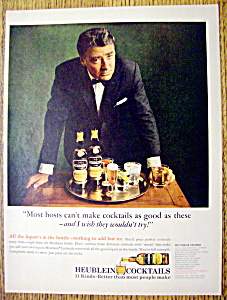 Vintage Ad: 1966 Heublein Cocktails With Peter Lawford