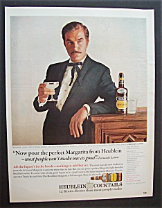 1966 Heublein Cocktails With Fernando Lamas