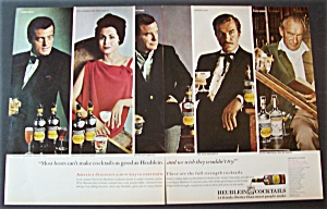 1966 Heublein Cocktails With Robert Goulet & Others