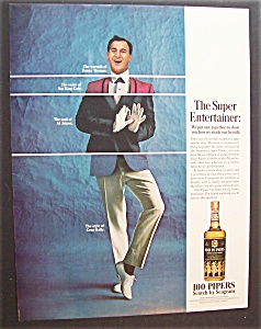 1966 100 Pipers Scotch With Danny Thomas
