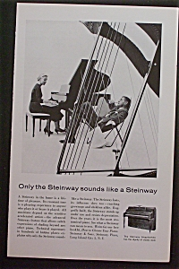 1959 Steinway Piano with Woman Playing Piano (Image1)