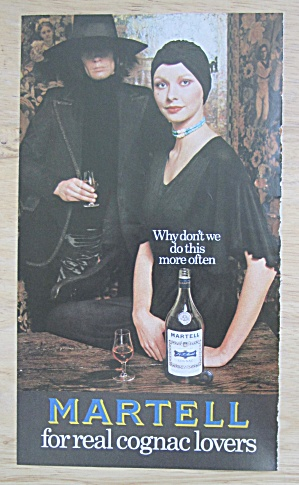 1973 Martell Cognac with Lovely Woman  (Image1)