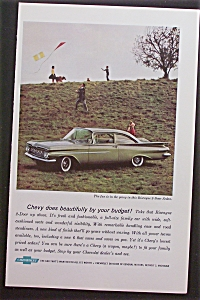 1959 Chevrolet with Chevy Biscayne 2-Door Sedan (Image1)