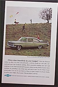 1959 Chevrolet with Chevy Biscayne 2-Door Sedan (Image1)