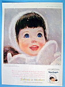 Vintage Ad: 1961 Northern Tissue (Image1)