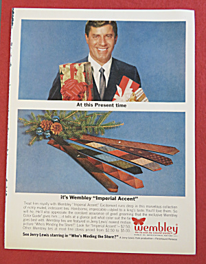 1963 Wembley Ties with Television Star Jerry Lewis (Image1)