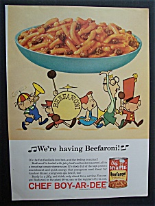 1964 Chef Boy - Ar - Dee Beefaroni