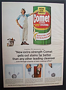 1965  Comet  Cleanser  with  Josephine (Image1)