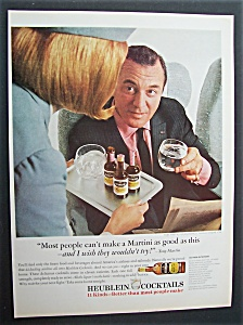 Vintage Ad: 1965 Heublein Cocktails With Tony Martin