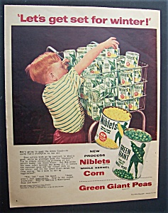1954 Green Giant Corn & Peas