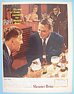 Vintage Ad: 1963 Meister Brau Beer with Irv Kupcinet (Image1)