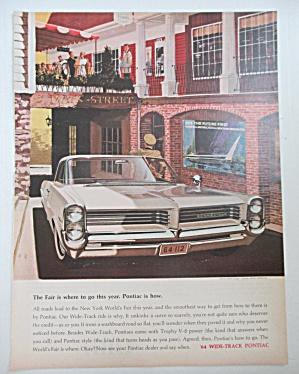 1964 Pontiac Automobile with the Wide Track Pontiac (Image1)