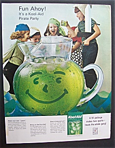 1964 Kool - Aid Instant Soft Drink Mix