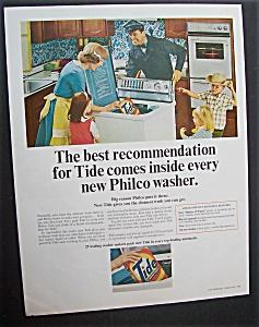 1965  Philco  Washer  &  Tide  Detergent (Image1)