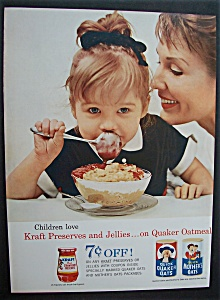 1962 Quick Quaker Oats