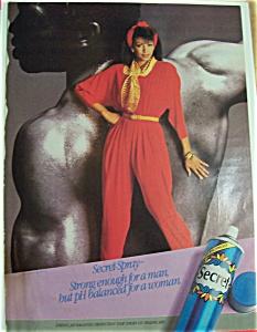 1986  Secret  Deodorant (Image1)