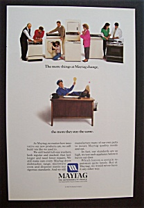 1986  Maytag  Appliances  with  the  Maytag  Man (Image1)
