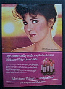 1985 Maybelline Gloss Stick W/ Lynda Carter