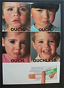 1988  Curity  Curad  Flexible  Fabric  Bandages (Image1)