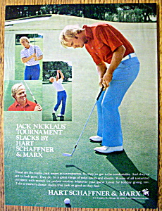 1974 Jack Nicklaus Tournament Slacks w/ Jack Nicklaus (Image1)