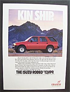 Vintage Ad: 1991 Isuzu Rodeo (Image1)