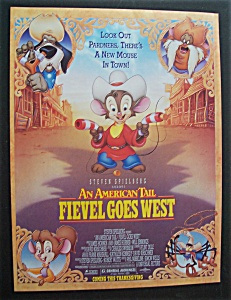 1991 An American Tail Fievel Goes West