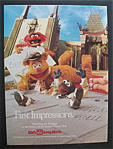 1990 Walt Disney World First Impressions W/the Muppets