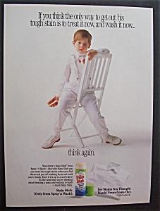 1989  Spray n' Wash  Stain  Stick (Image1)