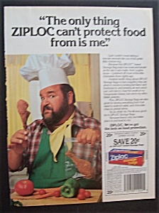 1987 Ziploc Bags With Dom Deluise