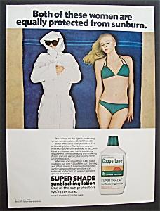 1980  Coppertone Super Shade Sunblocking Lotion (Image1)