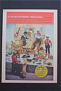 Vintage Ad: 1959 Roy Rogers Toys & Togs