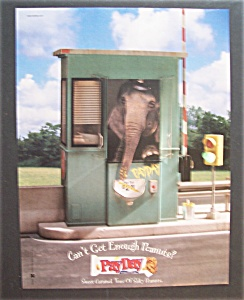 Vintage Ad: 1998  Pay Day  Candy  Bar (Image1)