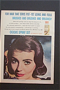1959 Ogilvie Sisters Spray Set with Lovely Woman  (Image1)