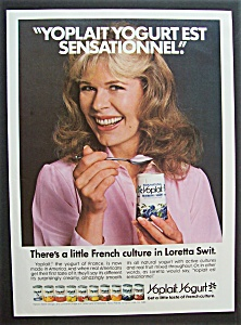 1980 Yoplait Yogurt With Loretta Swit