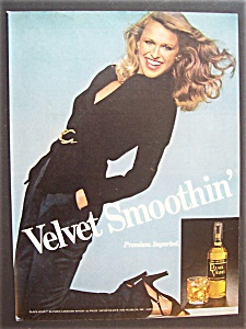 1980 Black Velvet Whiskey