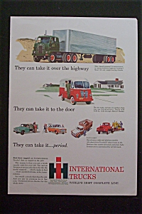 1959 International Trucks with Many Different Trucks (Image1)