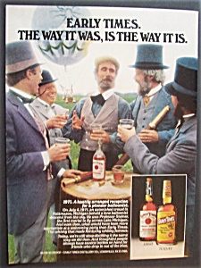 1980 Early Times Whiskey
