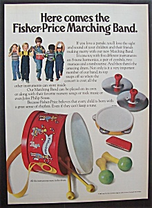 1981 Fisher-price Marching Band With A Children Band