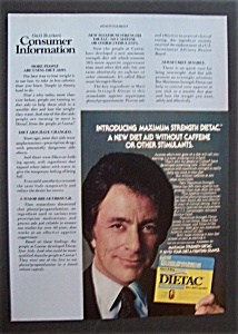 1981 Dietac Diet Aid Capsules  with  Bill  Bixby (Image1)