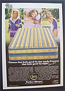 1981 Serta Perfect Sleeper With Susan Anton