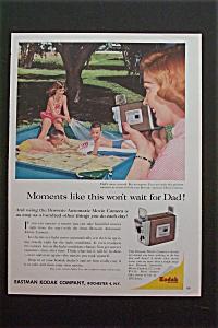 1959 Eastman Kodak Company w/ Mother Filming Children (Image1)