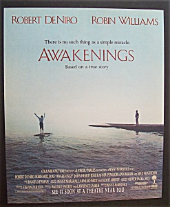 1991 Movie Ad For Awakenings