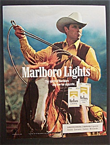 1986  Marlboro  Lights  Cigarettes (Image1)