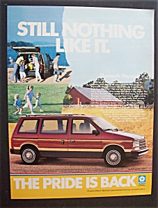 1986 Plymouth Voyager