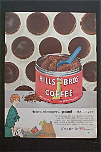 1959 Hills Bros. Coffee