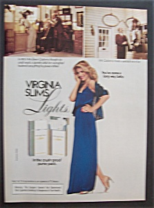 1981 Virginia Slims Light Cigarettes